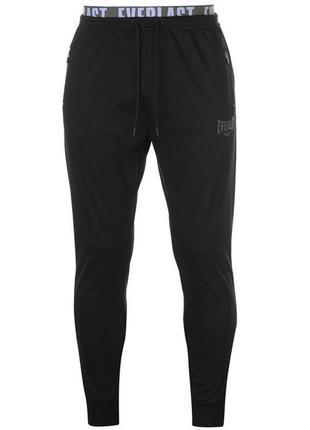 Мужские черные спортивные штаны еверласт everlast оригинал