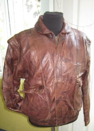 Кожаная мужская куртка- трансформер. германия. лот 483