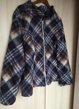 Шерстяная куртка/кардиган/рубашка
