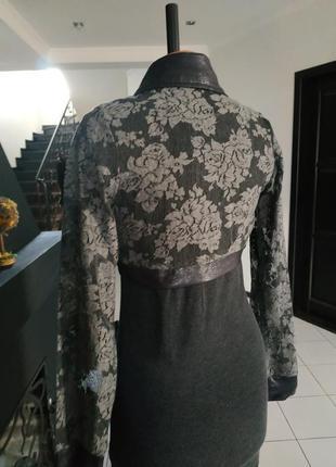Платье и болеро кружево кружевное гипюр розы