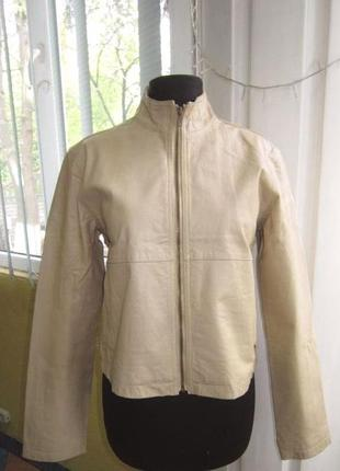 Женская кожаная куртка echt leder, германия.  малый размер. ло...
