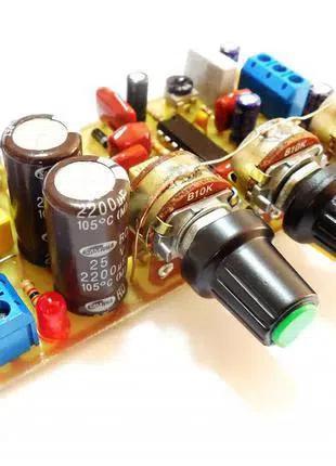 HI-FI активный усилитель сабвуфера (40Вт + 40Вт)