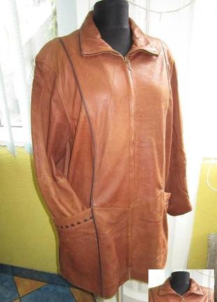 Женская стильная  кожаная куртка. германия. лот 495