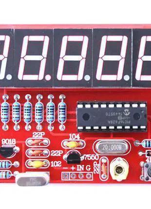 Кварцевый частотомер , счётчик частоты конструктор 1 Гц-50 МГц.