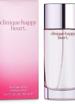 Clinique happy heart парфюмированная вода 100мл