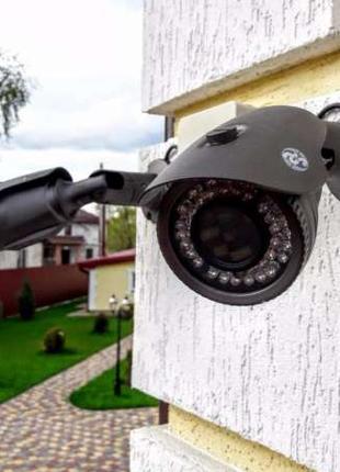 Монтаж, установка систем видеонаблюдения, недорого, Киев и обл...