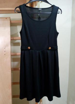 Трикотажное платье на невысокую девушку