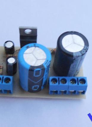 Усилитель Hi-Fi, НЧ 32 Вт (TDA2050, блок)