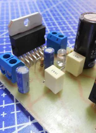 """""""Hi-End"""" Ламповый гибридный усилитель 30Вт+30Вт"""