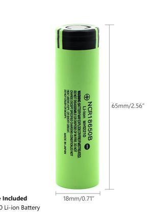 Аккумулятор Panasonic NCR18650B 18650 Li-ion 3400мАч 3400mAh Ориг
