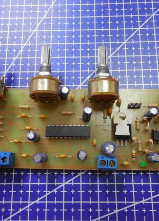 Стереофонический темброблок LM1036N с предварительным усилителем