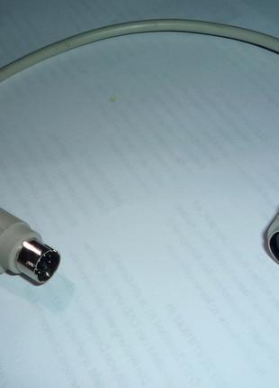 перехідник, подовжувач, (для клавіатури) Din-PS2.