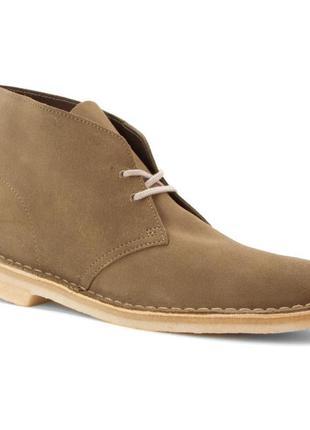 Clarks originals мужские ботинки desert boot suede 40-41 р.(ор...