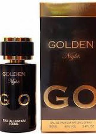"""""""Golden Night""""(100ml)Fragrance World"""