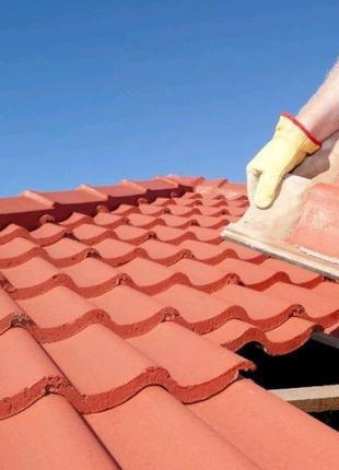 Покрівельні роботи, Будівництво даху.