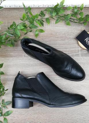 🌿37🌿европа🇪🇺 paul green. кожа. классные ботинки, челси на низк...