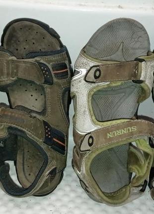 Фирменные сандалии босоножки geox 38р + вторая пара в подарок