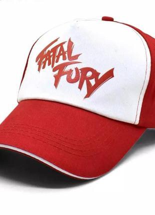 Кепка хлопковая мужская / женская / унисекс бейсболка fatal fury