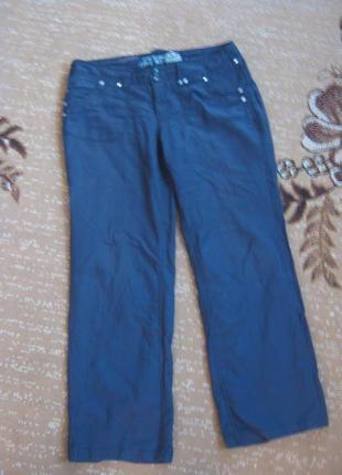 Модные льняные штаны new look