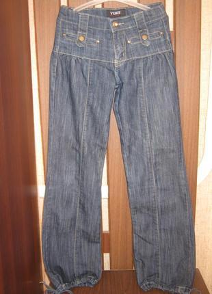 Красивые джинсы на девочку осень-весна/демисезонные джинсы
