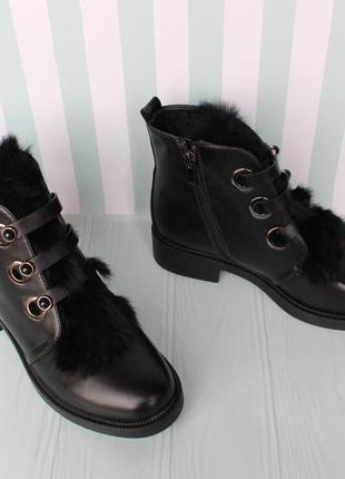 Зимние ботинки 39 размера