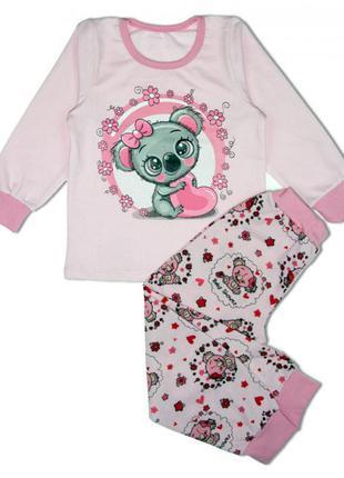 Детская красивая пижама р.92-140