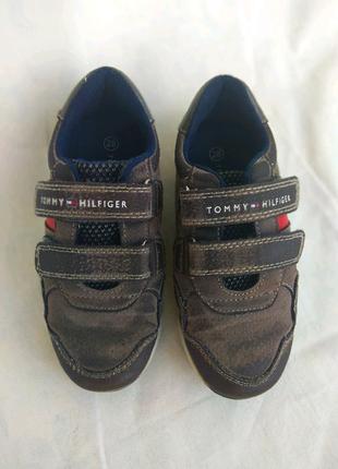 Кеды кроссовки детские Tommy Hilfiger обувь бу секонд