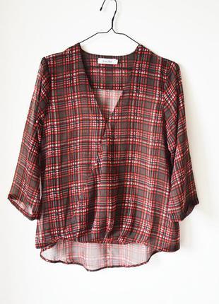 Шифоновая блуза актуального кроя