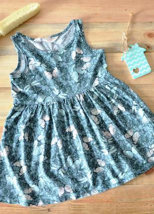 Платье с бабочками h&m