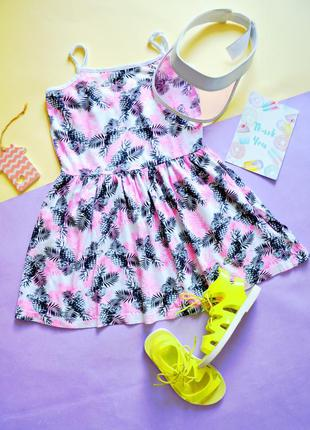 Платье в принт ананасов young dimension