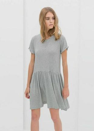 Платье skater цвета меланж от envii
