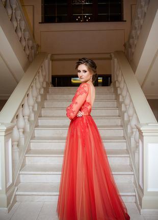 Выпускное платье . Вечернее платье