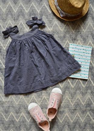 Майка туника с вышивкой по ткани pomp de luxe
