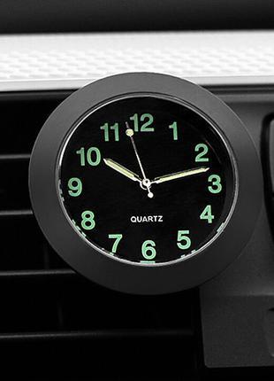 Автомобильные кварцевые часы , авто часы с держателем