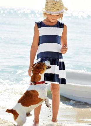 Платье в морском стиле next