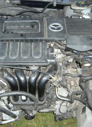 Б/у Двигатель в сборе Mazda 3 1.6 2003-2006