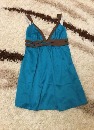 Яркий сарафан платье размер с