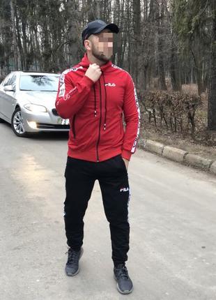 Стильный Мужской Спортивный костюм Fila