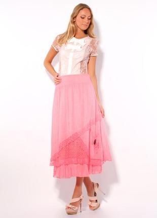 Шикарная юбка италия 🇮🇹 размер 46-52