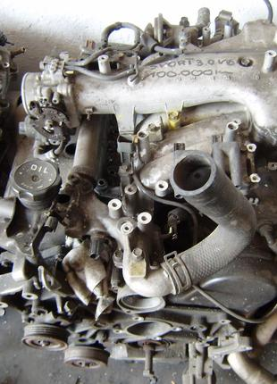 Б/у Двигатель в сборе Mitsubishi Pajero Sport bensin 3.0 6G72