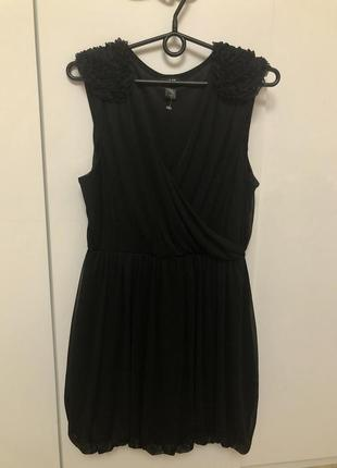 Платье с красивыми плечами от h&m