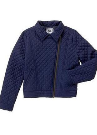 Стильная демисезонная курточка косуха gymboree