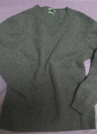 Шерстяной свитер мерино шерсть