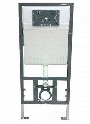 Комплект инсталляции (53-01-04-009) + кнопка черная или хром