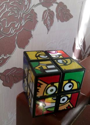 Кубик Рубика Миньоны