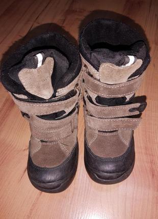 Зимние ботинки сапоги детские