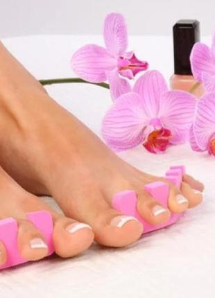 Разделитель для пальцев ног (растопырка для пальцев)из плотной...
