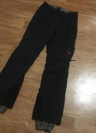 Крутейшие текинговые {горнолыжные} штаны от mammut outdoor win...