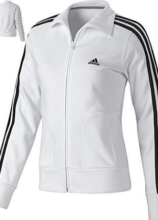 Крутая кофта (олимпийка) от adidas women essential ess 3s trac...