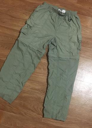 Классные штаны-трансформеры 2in1 (трекинговые) от columbia grt